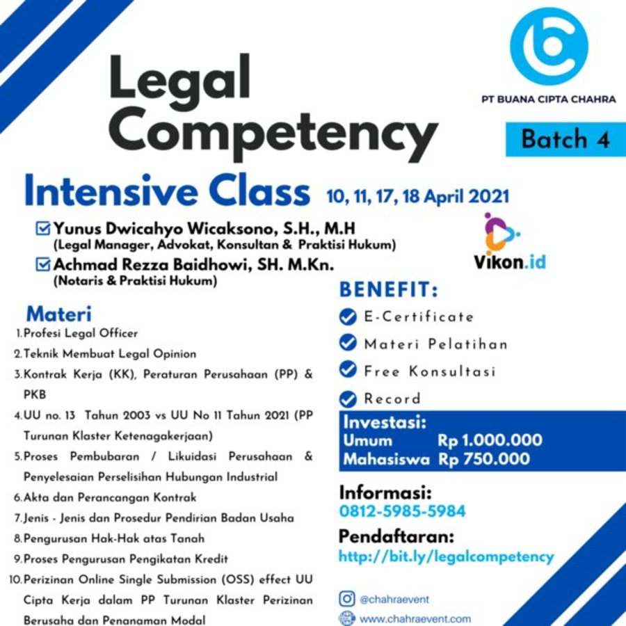 Legal competency batch 4